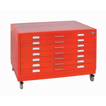 BF line - 5/7 drawers - Glass top